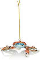 Value Arts Co.,Inc Value Arts Co, Inc Cloisonné Crab Ornament-RED
