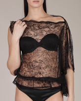 Cadolle Lace One Shoulder Top