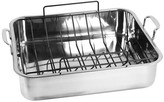 Oneida Stainless Steel Rectangular Roaster Includes A Non-Stick U Rack