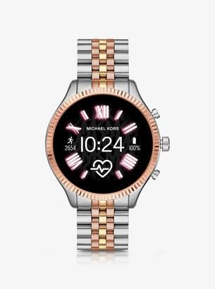 Michael Kors Gen 5 Lexington Tri-Tone Smartwatch