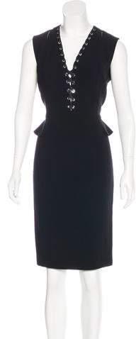 Altuzarra Lace-Up Midi Dress