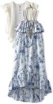 Beautees Girls 7-16 High Low Maxi Dress