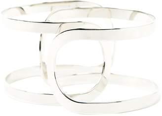 Maison Margiela Silver Metal Bracelets