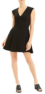 Theory Sleeveless Fit-and-Flare Dress