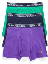 Polo Ralph Lauren Men's 3-Pack Cotton Boxer Briefs