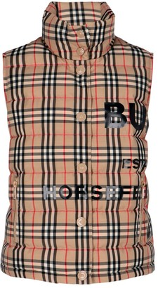 Burberry Vintage Check Padded Vest