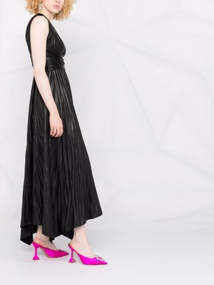 Maria Lucia Hohan One-Shoulder Maxi Dress