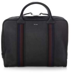 Paul Smith Top Zip Leather Briefcase