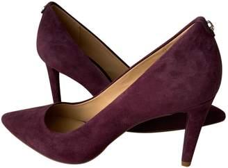 Michael Kors Purple Suede Heels