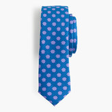 J.Crew Boys' silk tie in snow daisy