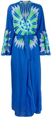 Emilio Pucci Embroidered Kaftan Dress