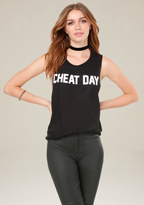 Bebe Cheat Day Tank