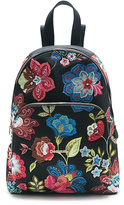 Desigual Black Floral Backpack