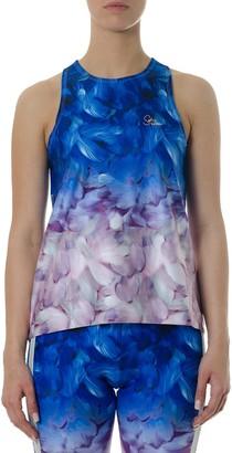 Sophia Webster X Puma Multicolor Floreal Print Top By Sw