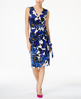 INC International Concepts Floral-Print Wrap Dress, Created for Macy's