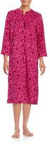 Miss Elaine Damask Fleece Robe