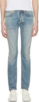 Nudie Jeans Blue Tilted Tor Jeans