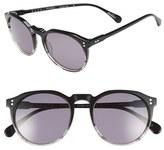 Raen Men's 'Remmy' 52Mm Polarized Sunglasses - Varley Black