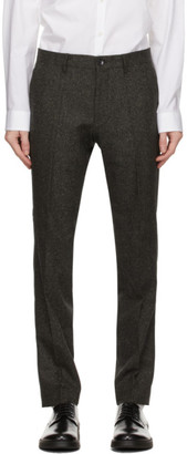 HUGO BOSS Green Wool Giro Trousers