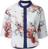 Antonio Marras printed cropped jacket - women - Cotton - 44