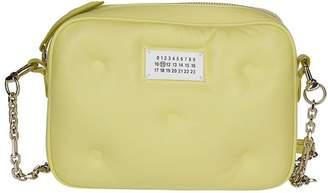 Maison Margiela Glam Slam Logo Patch Crossbody Bag
