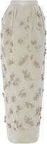 Zac Posen Taffeta Full Length Skirt