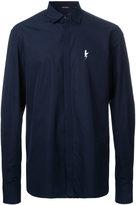 Neil Barrett lightning bolt shirt - men - Cotton - 40