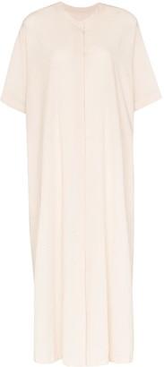 LVIR Reversible Crepe Midi Dress