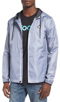 Hurley 'Blocked' Ripstop Hooded Zip Jacket