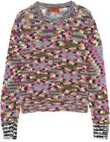 Missoni Cashmere And Wool-Blend Sweater