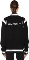 Givenchy INTARSIA KNIT BOMBER JACKET