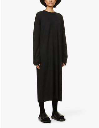 Frenckenberger Oversized cashmere midi dress