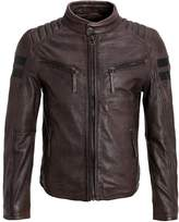 Gipsy Remmy Leather Jacket Anthrazit