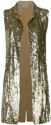 P.A.R.O.S.H. embellished draped waistcoat