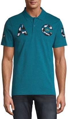 Lacoste Camo Logo Cotton Polo