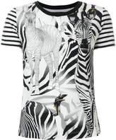 Marc Cain zebra print T-shirt