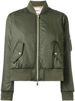 Blugirl cropped bomber jacket - women - Polyester - 38