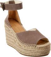 Soludos Positano Suede Wedge Sandal