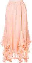 Chloé handkercheif hem skirt - women - Silk/Polyester - 36