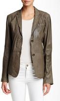 Jakett Vegetable Dye Genuine Leather Janie Jacket