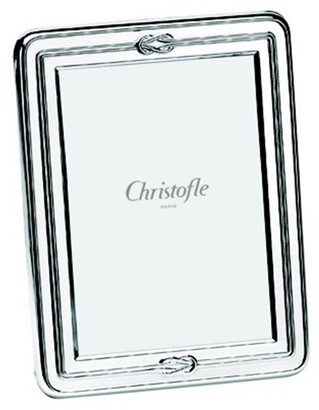 "Christofle Egea Knot 5"" x 7"" Picture Frame"