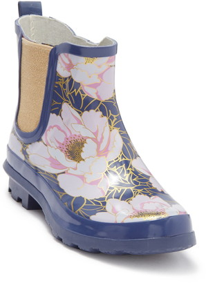 Western Chief Blushing Blooms Chelsea Rain Boot
