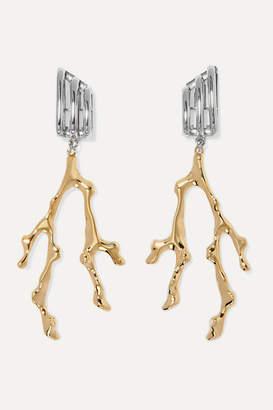 Chloé Bonnie Gold And Silver-tone Earrings