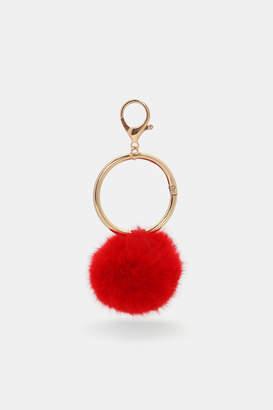 Ardene Pompom Keychain