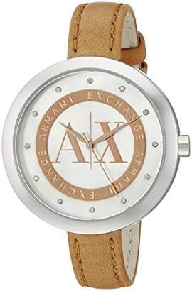 Armani Exchange Women's AX4226 Leather Watch
