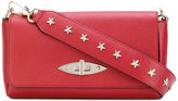 RED Valentino star studded clutch