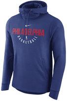 Nike Men's Philadelphia 76ers Practice Therma Hoodie