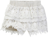 Hannah Banana Tiered Lace Short (Toddler & Little Girls)