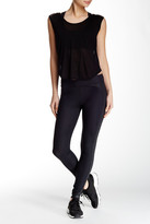 So Low Solow Diamond Embossed Side Panel Legging