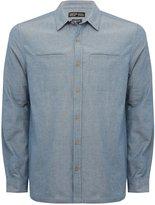 M&Co Chambray long sleeve shirt